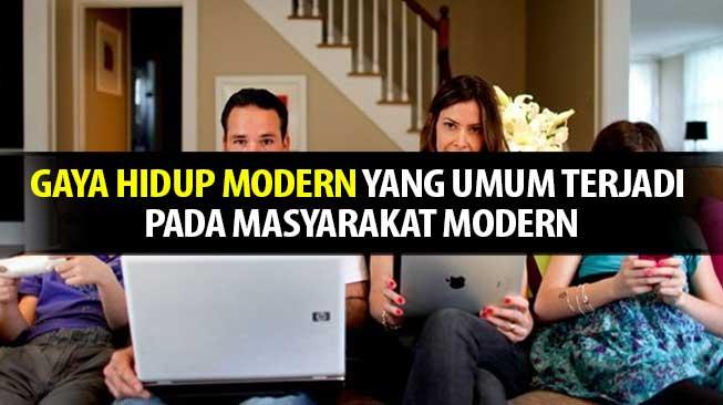 gaya hidup modern
